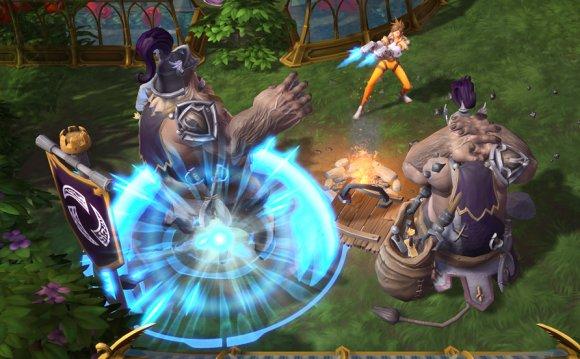 Heroes of the Storm - играть онлайн. Бесплатные МОБА игры