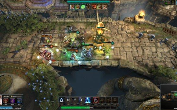 MOBA игра TOME: Immortal Arena доступна в Steam