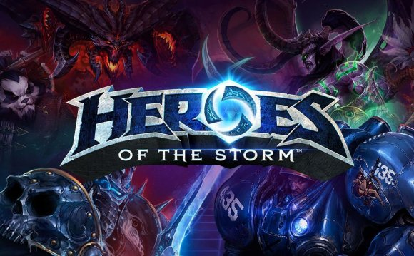 Моя первая МОБА игра - Heroes of the Storm